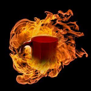 Feuer Tasse