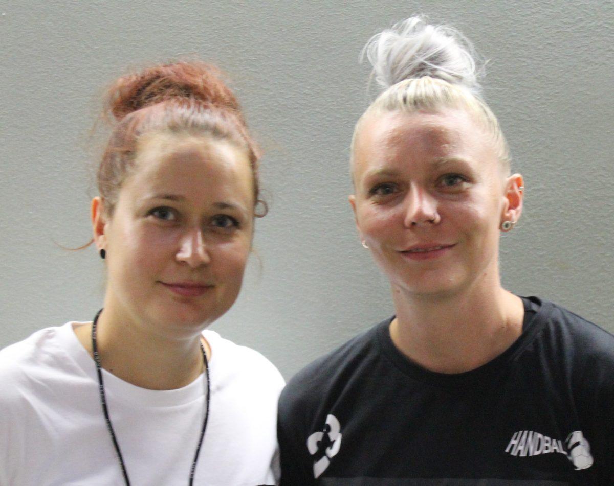 WHA Trainer-Duo Martina Umreich und Monika Vancova