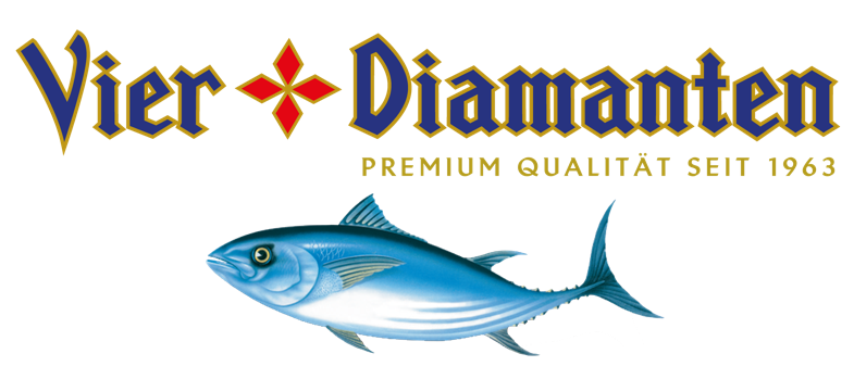 Vier Diamanten Prämium Thunfisch